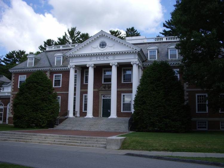 Dartmouth's Tuck School of Business