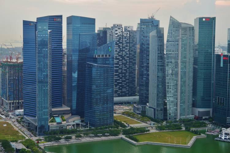 Singapore's Marina Bay Financial Centre