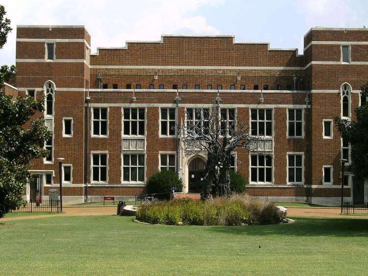 Central library at Vanderbilt University