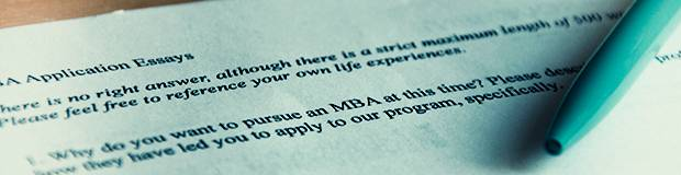 How to Write MBA Application Essays