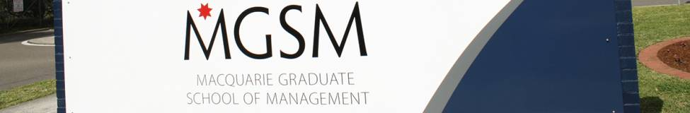 "MGSM Launches ""Women in MBA"" Program"