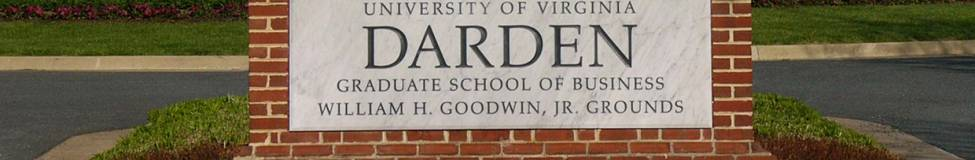 Darden Tweaks MBA Program