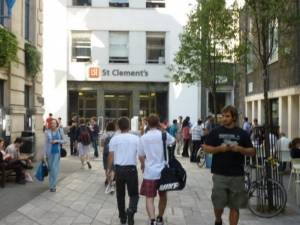 LSE St. Clement's Building