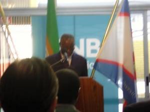 Inauguration of the Namibia Business School by Founding President of Namibia, Dr S Nujoma