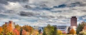 View of Binghamton University Campus, State University of New York