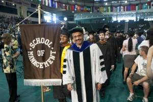Commencement. The School of Management at Binghamton University, State University of New York