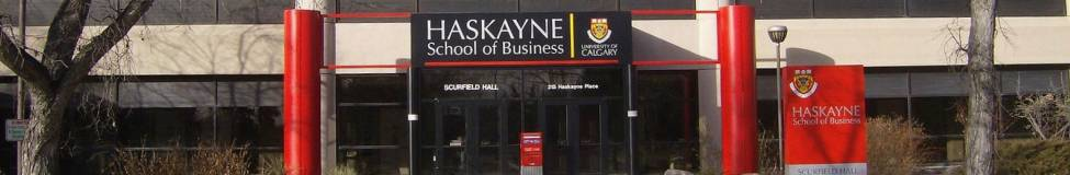 Calgary - Haskayne