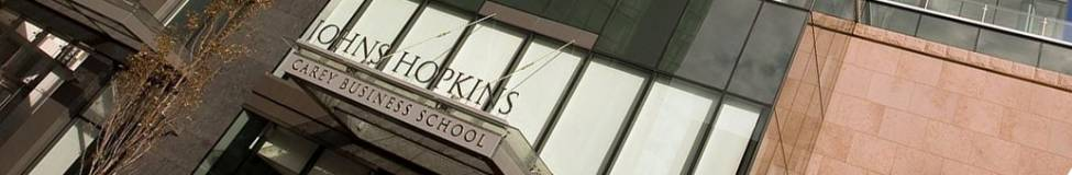 Johns Hopkins - Online MBA