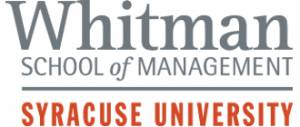 Syracuse University - Whitman School of Management - Online MBA