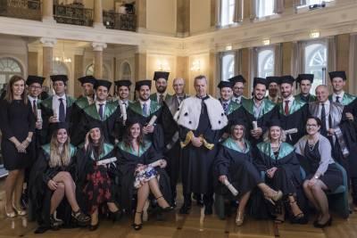 Graduation Ceremony MBA Class 2017