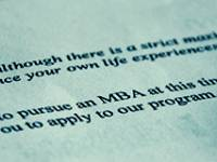 How to Master an MBA Personal Statement