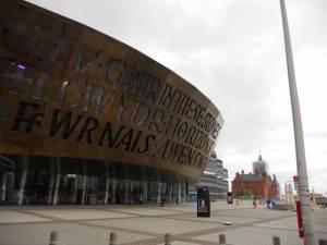 The graduation venue - Wales Millennium Centre, Cardiff, Wales, UK