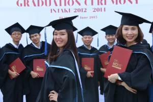 Graduation ceremony, intake 2012-2014
