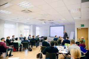 SSE Russia classroom in St.Petersburg