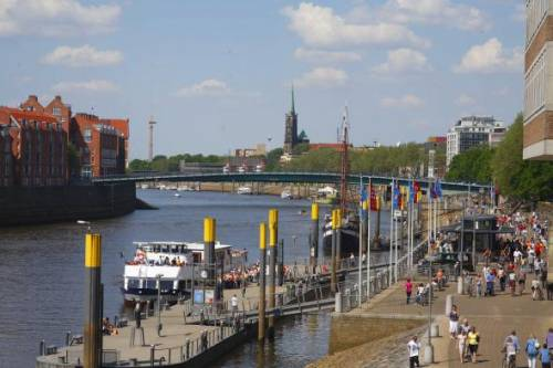Bremen and the river Weser