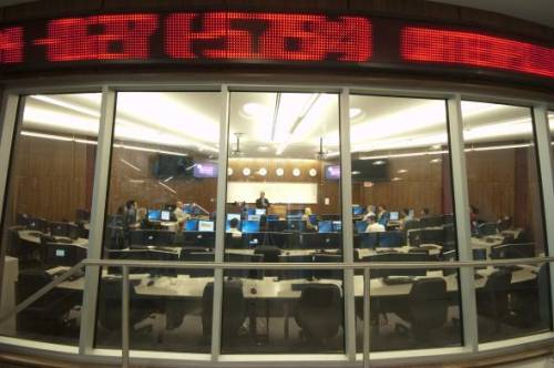 Trading room - Newark Campus! www.business.rutgers.edu/mba