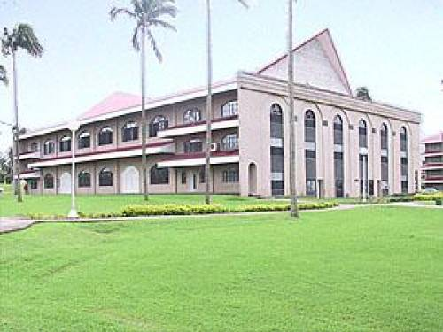 Gymnasium Building of AIIAS