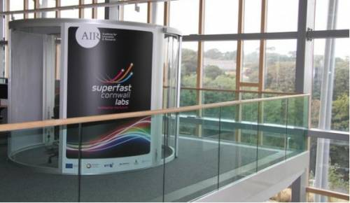 A pod for meetings in the AIR building