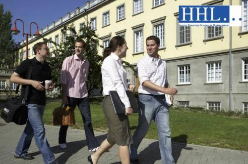 Students on HHL campus