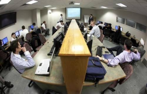 Zurack Trading Room, The School of Management at Binghamton University, State University of New York