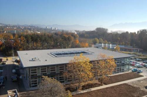 Extranef, the main building of the executive education at HEC Lausanne