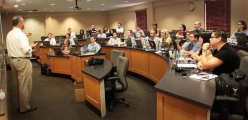 Rollins MBA classroom.