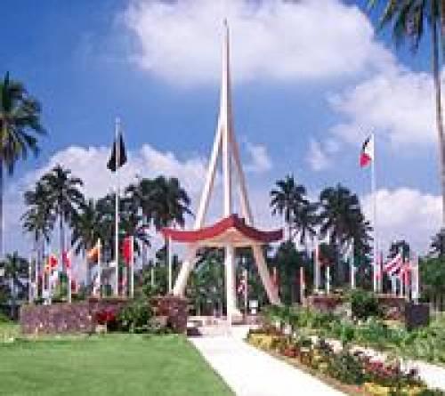 AIIAS Belltower - landmark of AIIAS