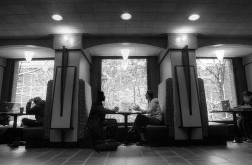 Study spaces at Binghamton University, State University of New York