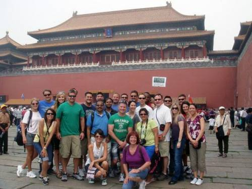 Class of 2012 during International Study trip to China