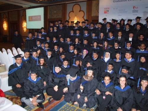 Graduation Ceremony - Class 2008. Graduates of MBA Program conducted by RITI in cooperation with Maastricht School of Management