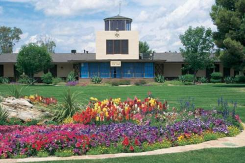 Shown here is the historic Thunderbird air traffic control tower as it appears today. For more than 60 years, Thunderbird has focused on developing global leaders with the skills and mindset to create sustainable prosperity worldwide. In fact, Thunderbird