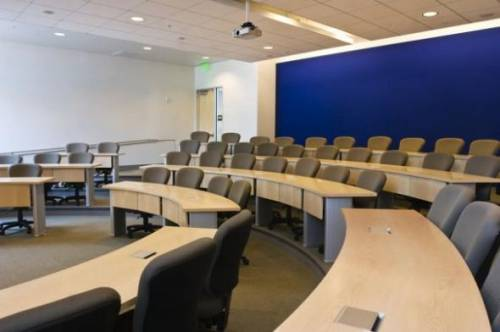 Classroom in our new Graduate School of Business building