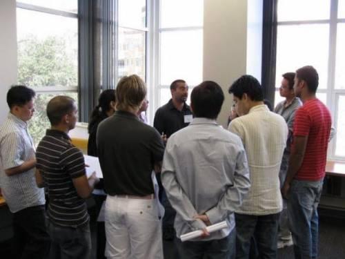 Club meeting in the Multi-purpose Room (MPR)