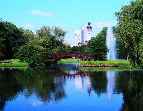 Leipzig park