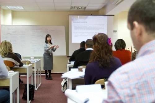 MSM Romania classroom