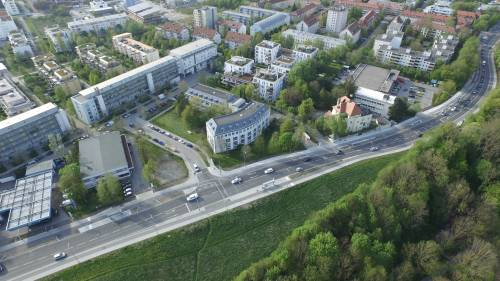 View on New European College from the top 2