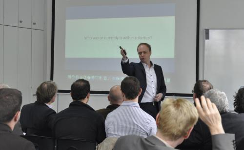 American-German Business Club (AGBC) meeting held in New European College