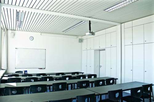 New European College Classroom