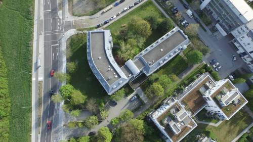 View on New European College from the top 1