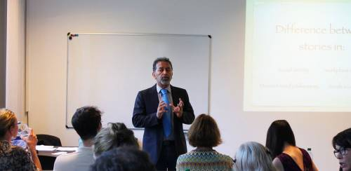 Toastmasters event New European College