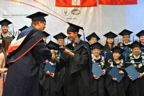 Graduation ceremony, intake 2009
