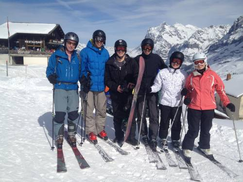 Class ski trip.