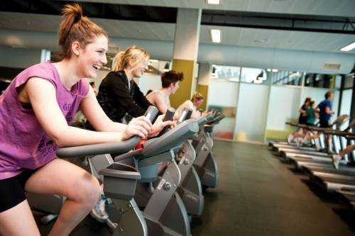 Healthy body, healthy mind - Otago's impressive gym facilities.
