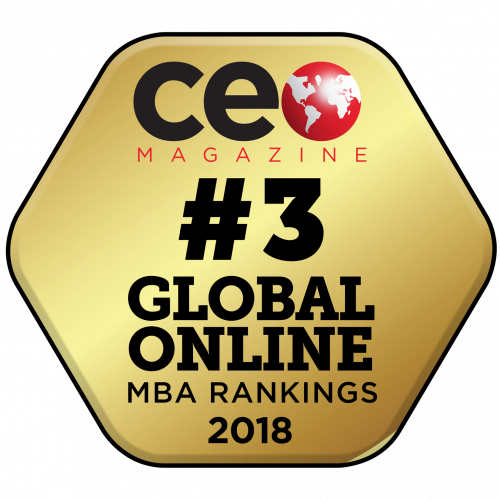 London-based CEO Magazine ranked the Otago Online MBA the 3rd best in the world.