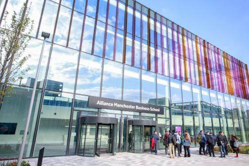 Alliance Manchester Business School's brand new campus