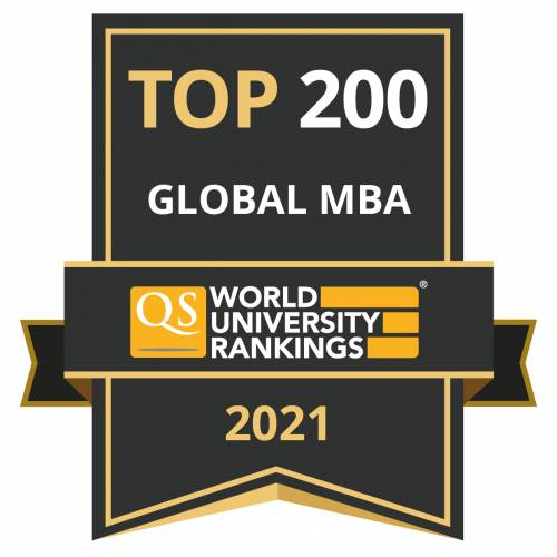 Otago MBA is internationally ranked by QS among the Global 200.
