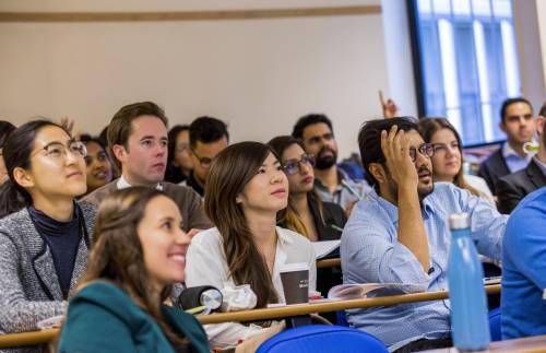 ESSEC Global MBA participants