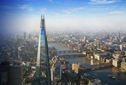 WBS, London, is located on the 13th and 17th floors of The Shard