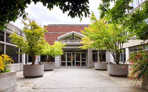 The Albers School of Business and Economics is located in Seattle University's Pigott Building